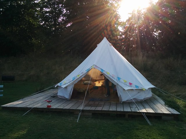 Glamping from Flickr via Wylio