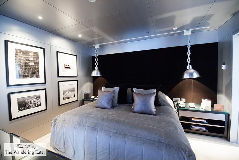 Bedroom at Lichfield Suite