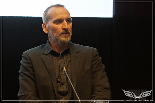 The Establishing Shot: LEGEND PRESS CONFERENCE - ACTOR CHRISTOPHER ECCLESTON - SOHO HOTEL,   LONDON
