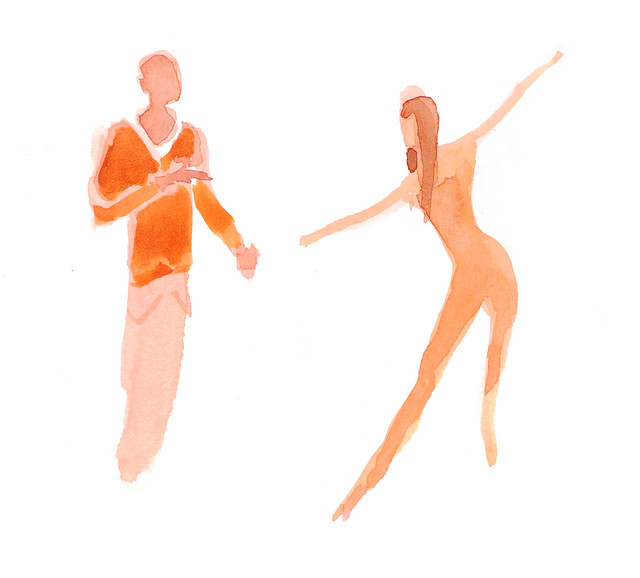 coreographer and the dancer