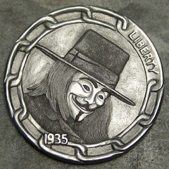 Guy-Fawkes Hobo Nickel