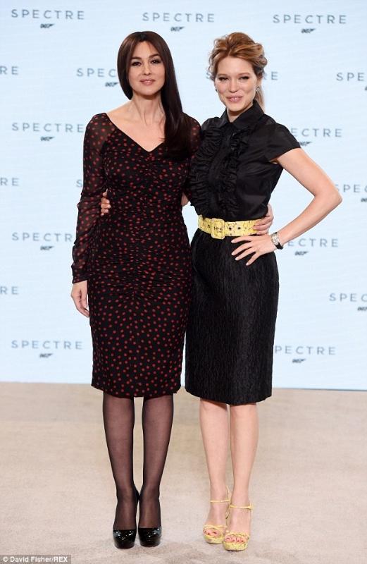 SPECTRE - Promo - Monica Bellucci e Léa Seydoux