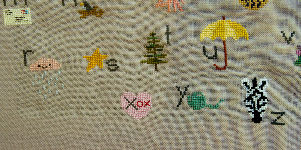 My Sweetie Pie Counted Cross Stitch
