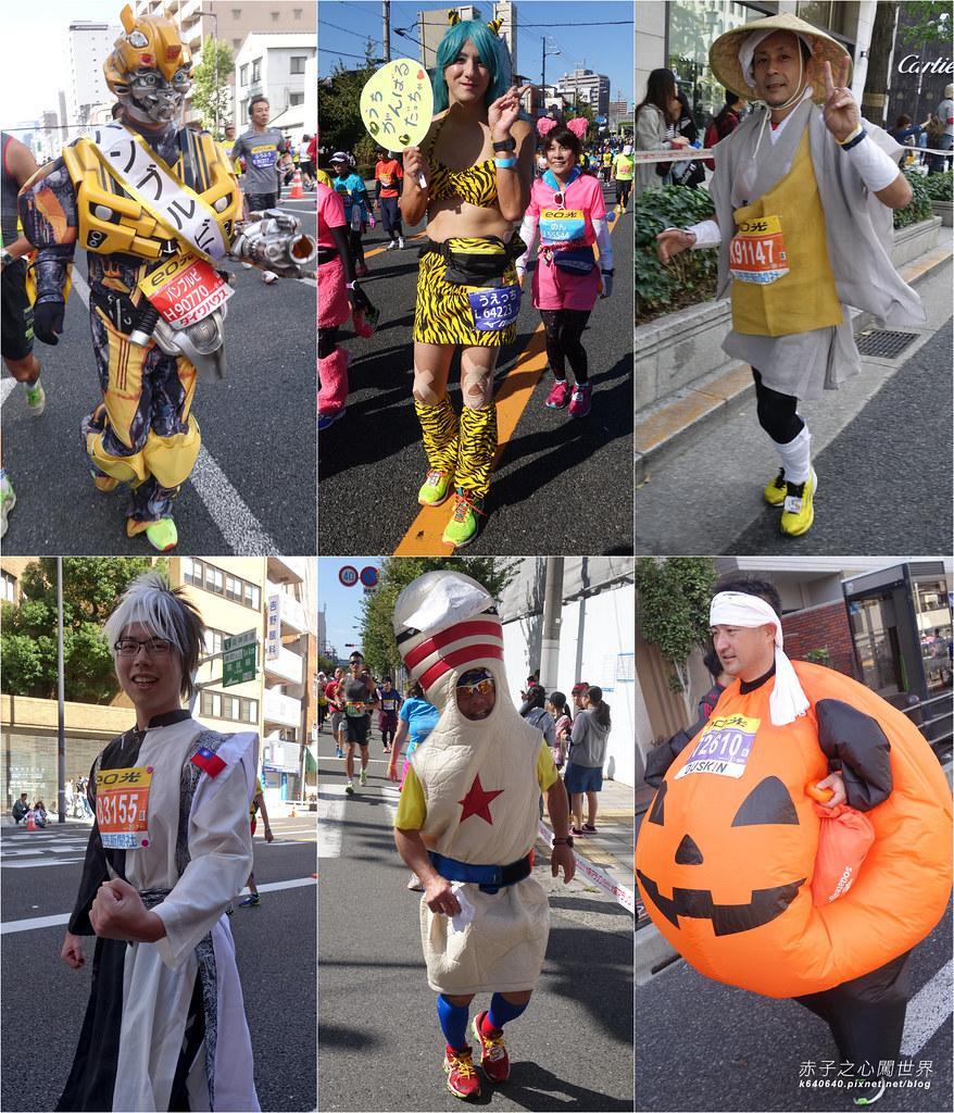 拼圖-大阪馬拉松-變裝跑者