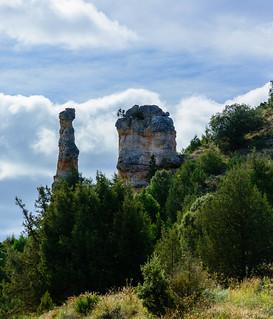 Razones para recorrer el Sendero GR 14 en Burgos: Chimeneas de hadas