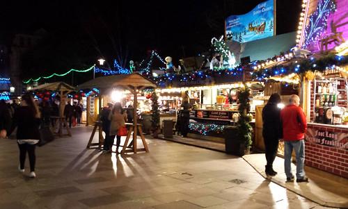 Christmas market, Cardiff