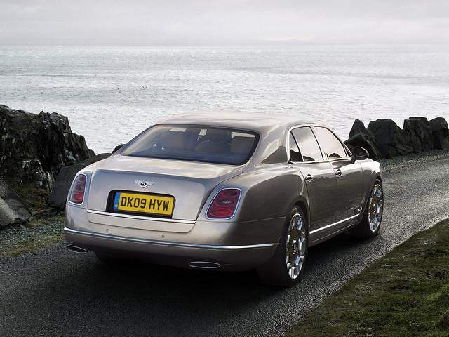 Седан Bentley Mulsanne II. 2010 – 2016 годы
