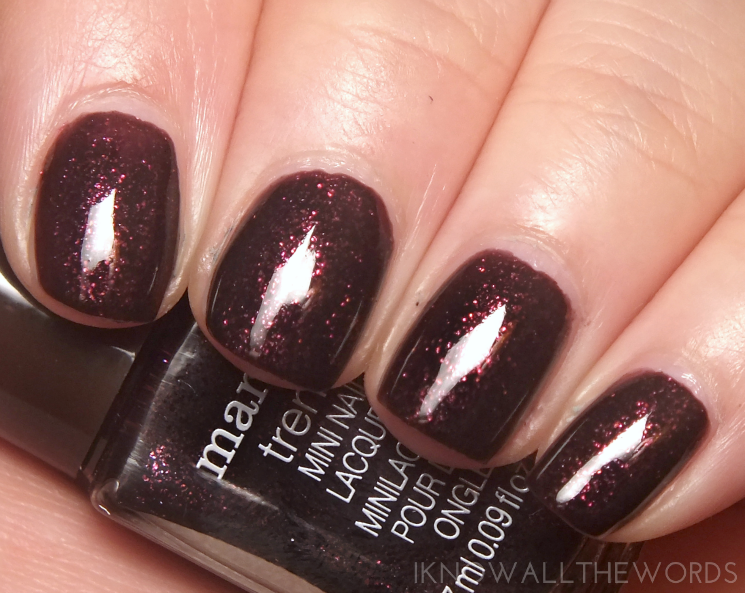mark nailed it trend mini gel effect nail lacquer- sugarplum
