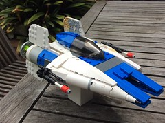 rz-1 a-wing w.i.p. - 3/4