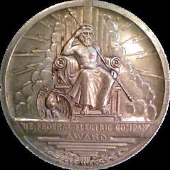 federal-electric-award_medal_Obverse