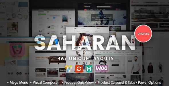Themeforest SAHARAN v1.1.3 - Responsive WordPress Theme