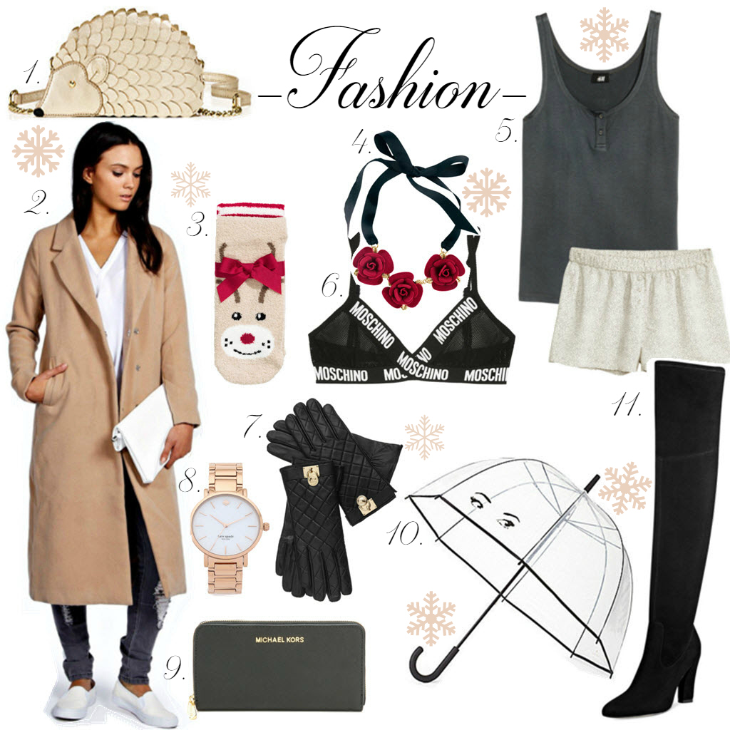 Fashion christmas gift guide