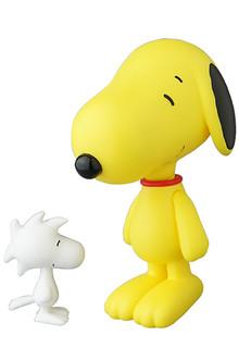 叮噹法術變變變?!MEDICOM TOY PLUS 限定【史努比、糊塗塌客】VCD Snoopy & Woodstock SSUR Ver.