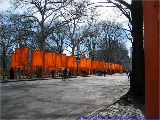 The Gates, Central Park, Canon POWERSHOT S45