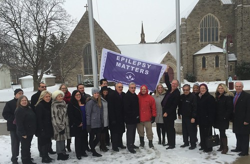 Oshawa City Hall Flag Raising and Launch