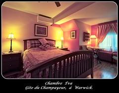 Chambre Éva, Gite du Champayeur.