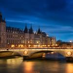 La Conciergerie & Pont au Change, Paris