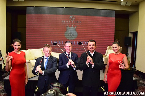 RWManila Masters golf tournament launch