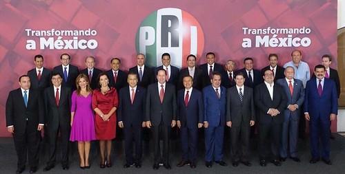Gobernadores priístas