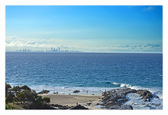 Brisbane from tweed Heads
