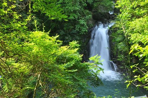涼山瀑布-第二層