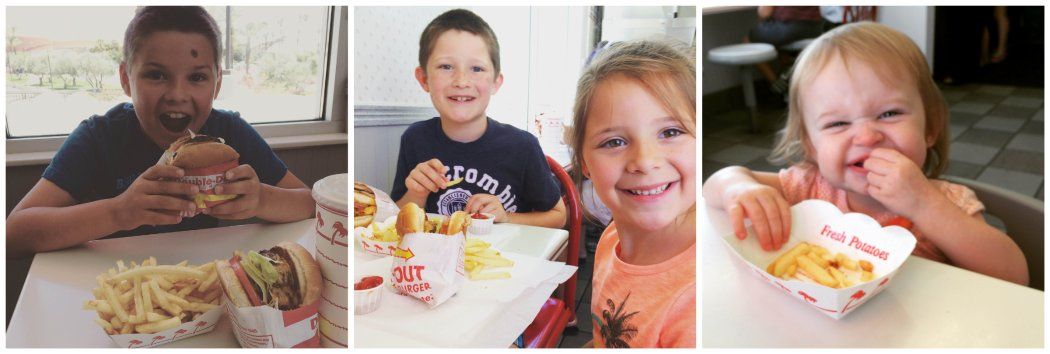 first trip to in-n-out