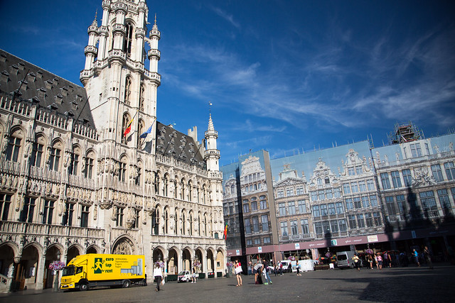 Grand Place Belgium Brussels #ユーレイル