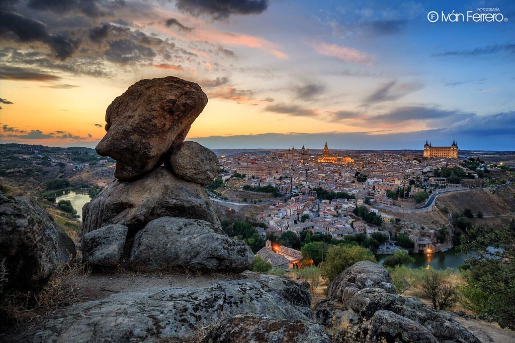 Piedra del Rey Moro - Toledo - España