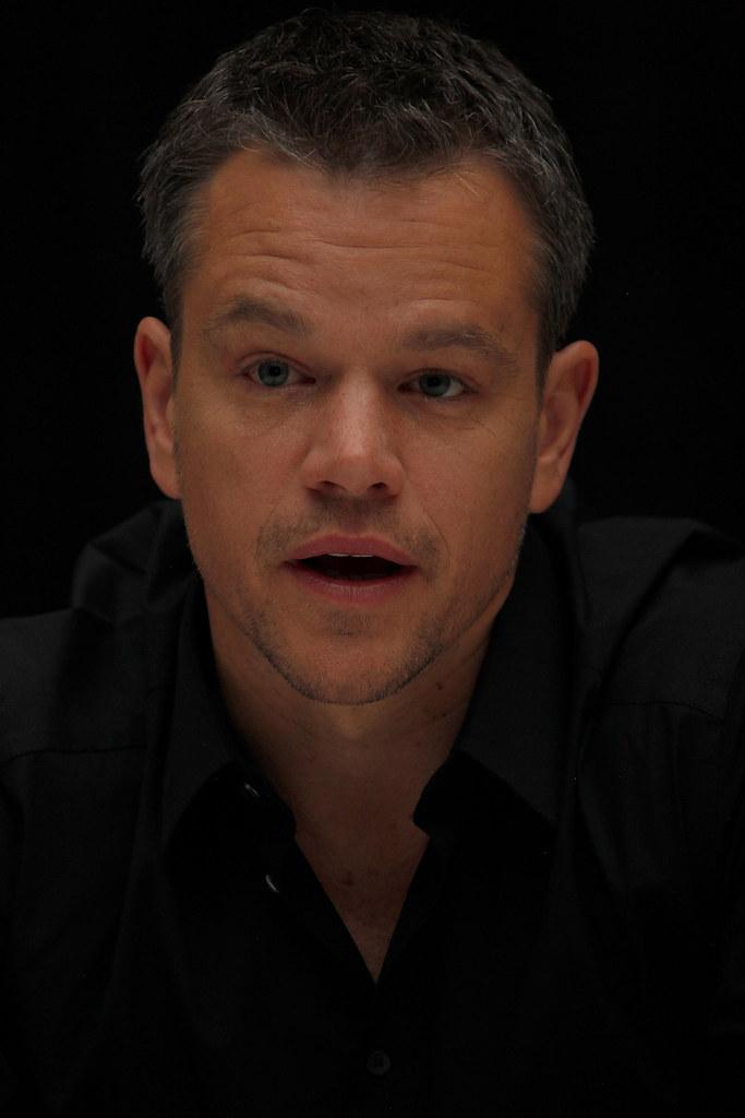 Мэтт Деймон — Пресс-конференция «Марсианин» на «TIFF» 2015 – 7