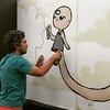@gurulino at @ctjonline . Sucesso total, grafiteiros de Brasilia encantando a galerinha.