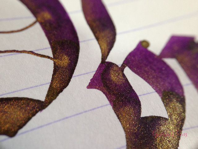 Ink Shot Review Diamine Purple Pazzazz (9)