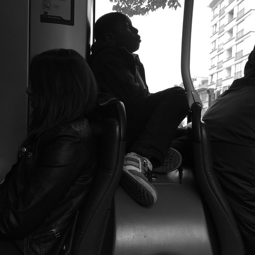 Tram portrait