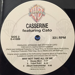 CASSERINE:WHY NOT TAKE ALL OF ME(LABEL SIDE-B)