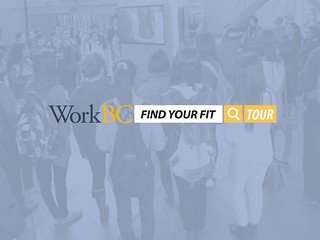 Young people considering what skills they will need for tomorrow's in-demand occupations will have an opportunity for interactive, hands-on experience at WorkBC's Find Your Fit tour stop at the Williams Lake campus of Thompson Rivers University, 1250 Western Ave., on Dec. 2, 2015.