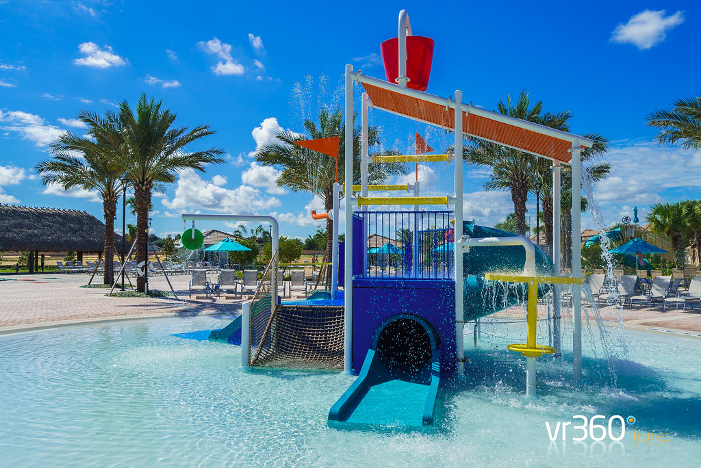 Kids Splash Pool at the Oasis Clubhouse | Champions Gate Retreat