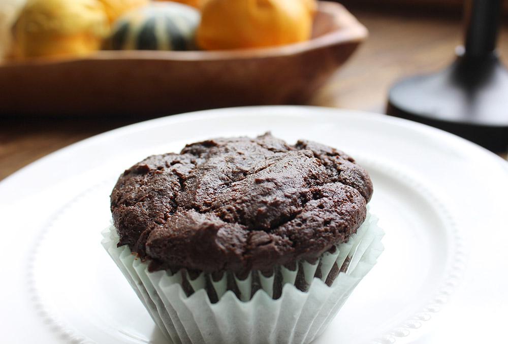 chocolate-pumpkin-muffin