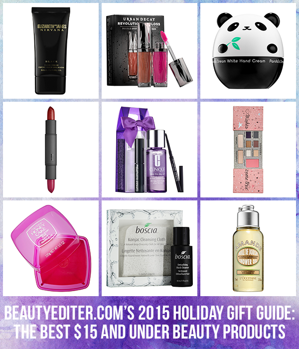 2015 Holiday Gift Guide: The Best $15 and Under Beauty Products