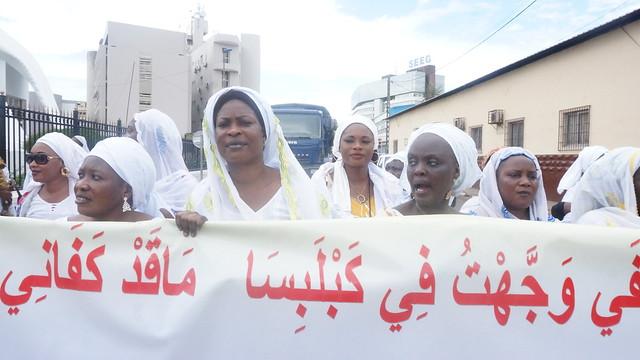 marche des mourides au Gabon