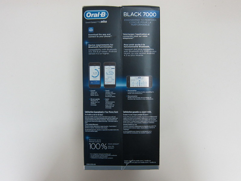 Oral-B Black 7000 - Box Left
