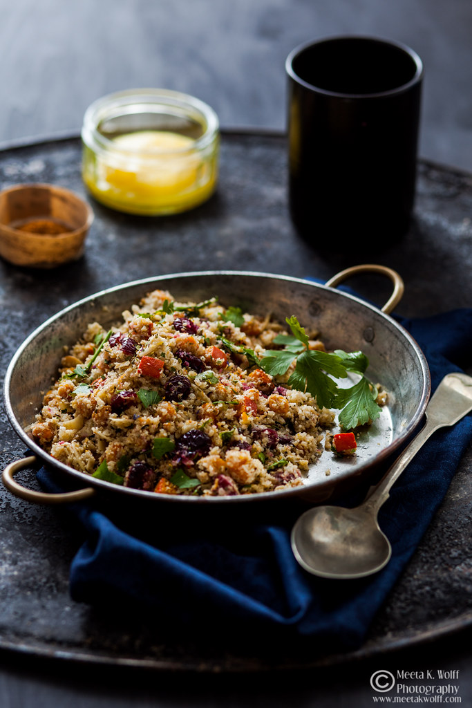Vegan Thanksgiving Recipes-Cauliflower Couscous by Meeta K Wolff-WM-0037