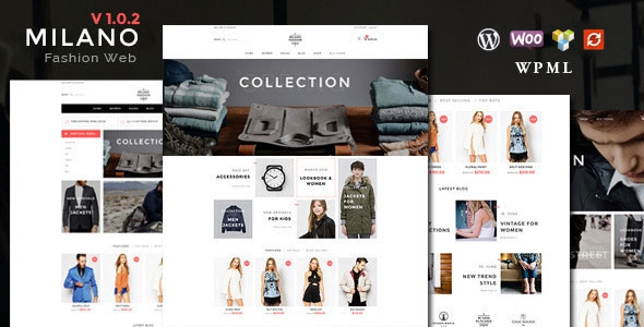 Milano v1.6.8 - Fashion Responsive WooCommerce Theme