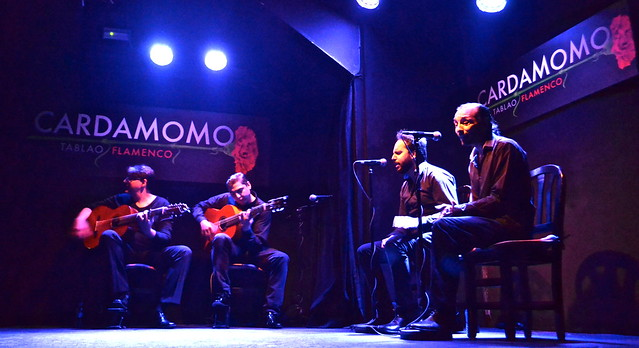 performers - Flamenco en Madrid - Cardamomo Tablao Flamenco