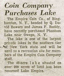 Empire Coins Company purhcases lake