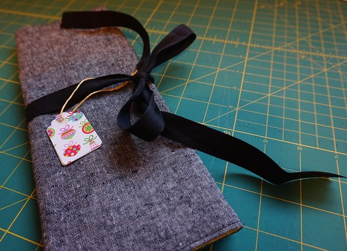Sew Knitting Needle Organizer