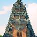 Bali 2015, Pura Puseh Temple Batuan, triangular temple weru WM