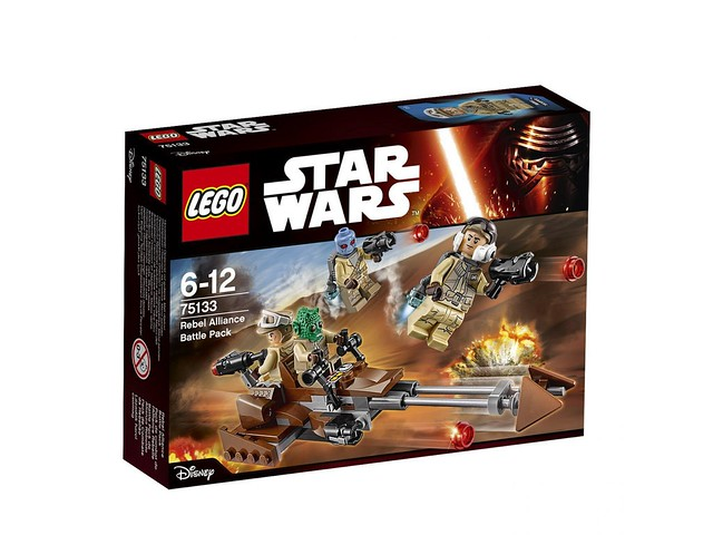LEGO Star Wars 75133 - Rebels Battle Pack