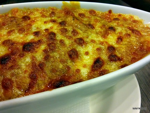 Portugese Cheese-baked Rice