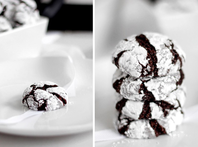 FOOD BEST CHOCOLATE CRINKLE COOKIES EVER: ARTICLE 21 UK FASHION & BEAUTY BLOG