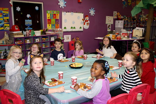James's Pre-K Christmas Party 2015