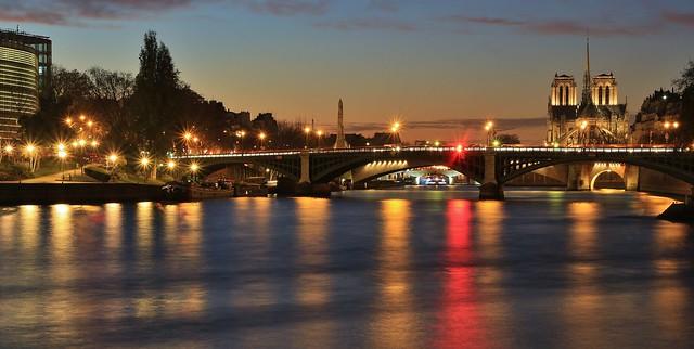 Cathédrale Notre-Dame Pont de Sully